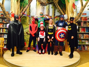 Polk County Sheriff's Office Super Heroes